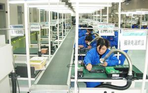 爱普特多工位焊接净化器应用