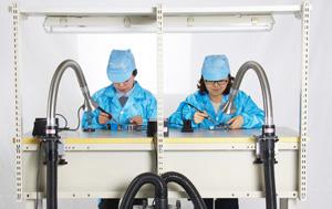 爱普特电子焊接净化器应用